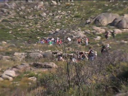 El monte Pindo, un año después