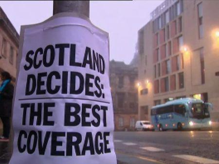 Escocia vota su futuro