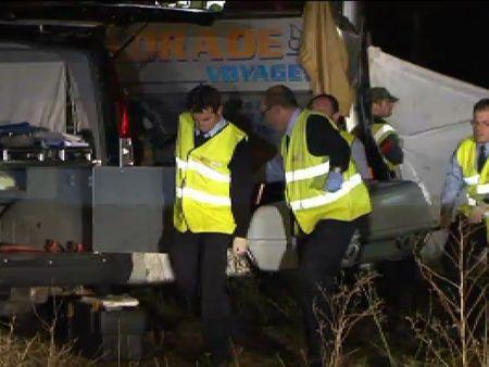 Tres fallecidos y 26 heridos tras la colisión de dos autobuses en la A-62