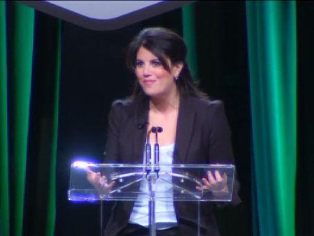 Monica Lewinsky, defensora de las víctimas del ciberacoso