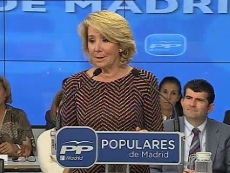 """Aguirre da la razón a los que se indignan por los """"políticos que se lo están llevando crudo"""""""