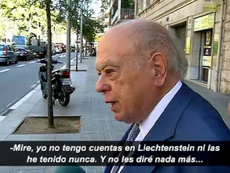 Jordi Pujol niega tener cuentas en Liechtenstein