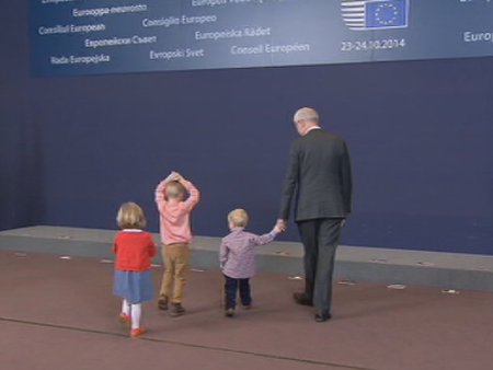 Los nietos de Van Rompuy se cuelan en el Consejo Europeo