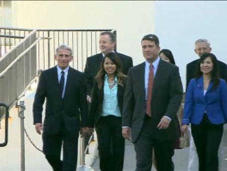 Obama se reúne en la Casa Blanca con la primera infectada de ébola por contagio en EEUU