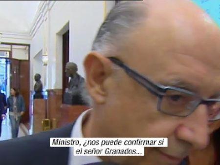 Montoro esquiva las preguntas sobre la amnistía fiscal de Granados