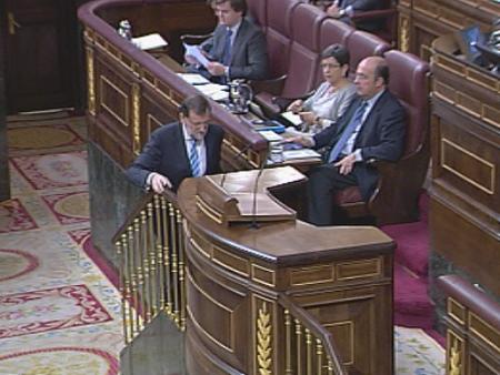 Rechazada por el PP la petición de que Rajoy comparezca en el Congreso por la corrupción
