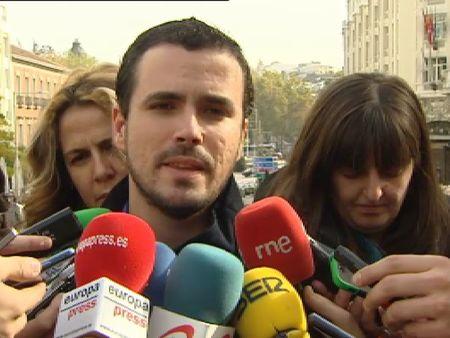 Garzón anuncia su candidatura para las primarias de IU