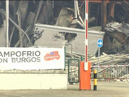 Dos mil personas se manifiestan en Burgos para conservar sus trabajos en Campofrío