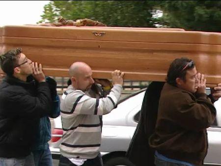 Fuensalida despide con dolor a las tres jóvenes atropelladas mortalmente